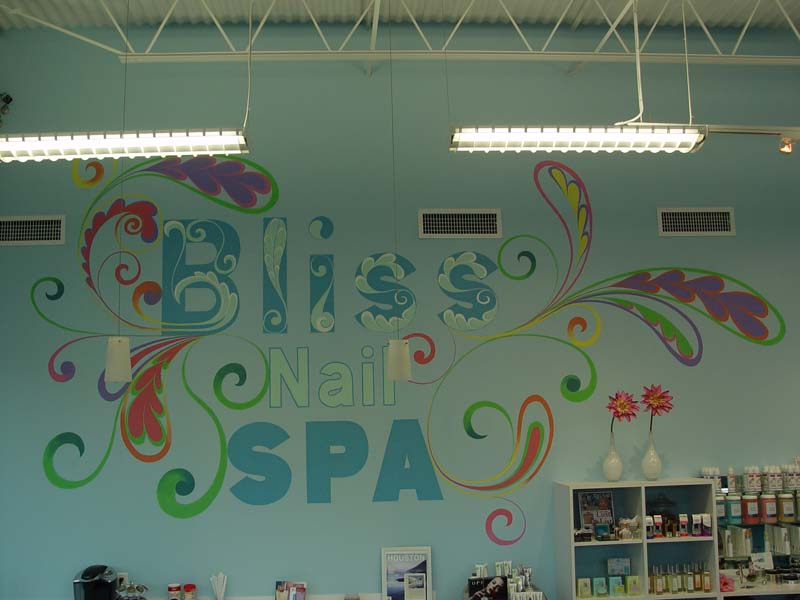 Commercial murals in houston katy decorative painting for Commercial mural painting